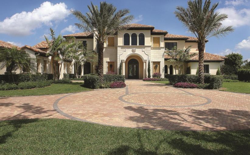 $4.295 Million Mediterranean Lakefront Mansion In Boca Raton, FL