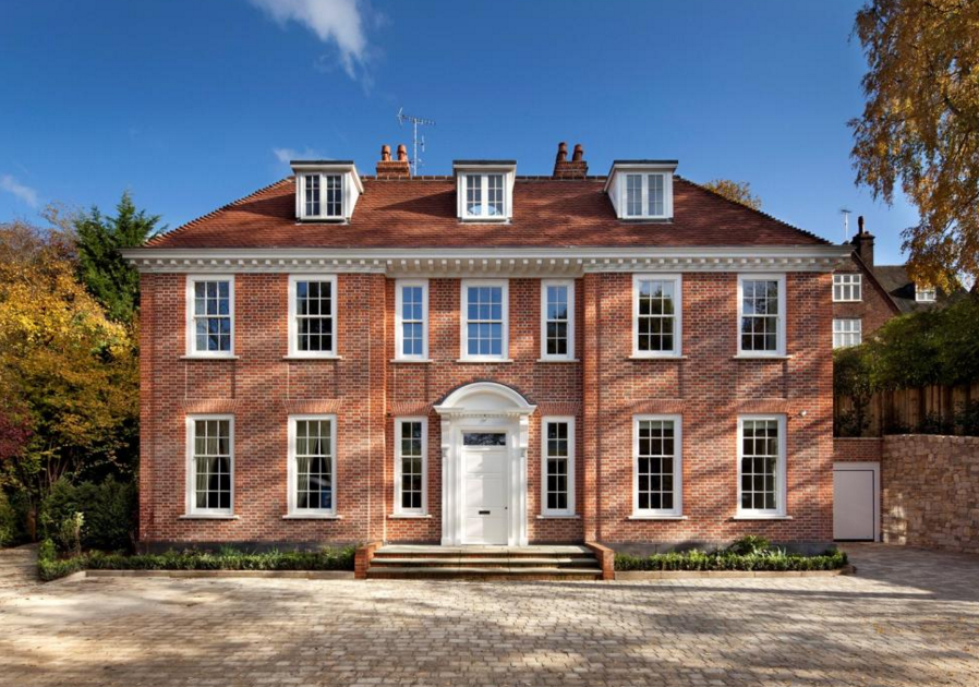 11,000 Square Foot Brick Mansion In London, England