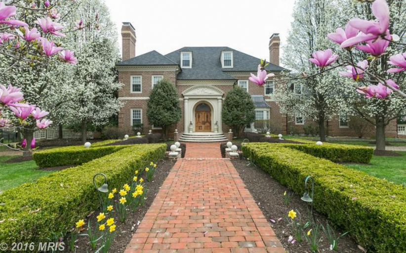 10,000 Square Foot Georgian Brick Mansion In Cockeysville, MD
