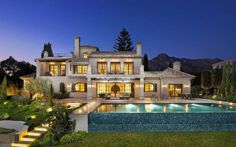 €4.75 Million Newly Built Mediterranean Mansion In Marbella, Spain