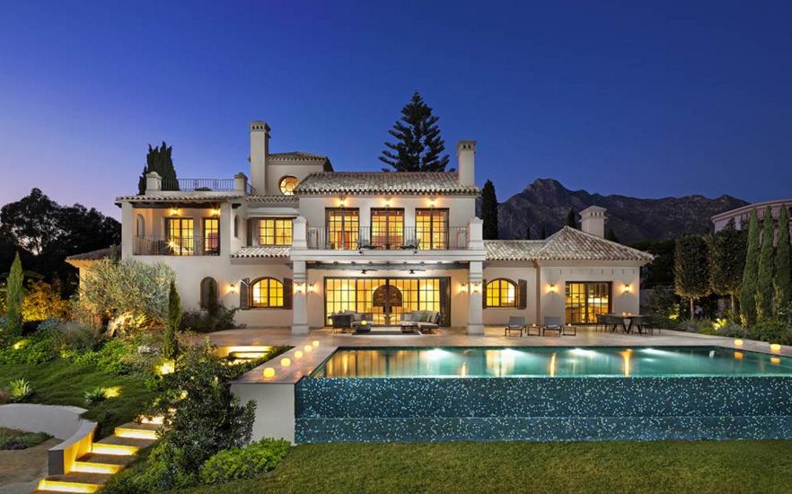 4 75 Million Newly Built Mediterranean Mansion In