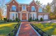 $2.58 Million Newly Built Brick Home In Roslyn Heights, NY