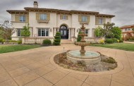 $3.8 Million Stucco Mansion In Pleasanton, CA