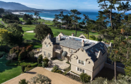 $22 Million Golf Course Mansion In Pebble Beach, CA