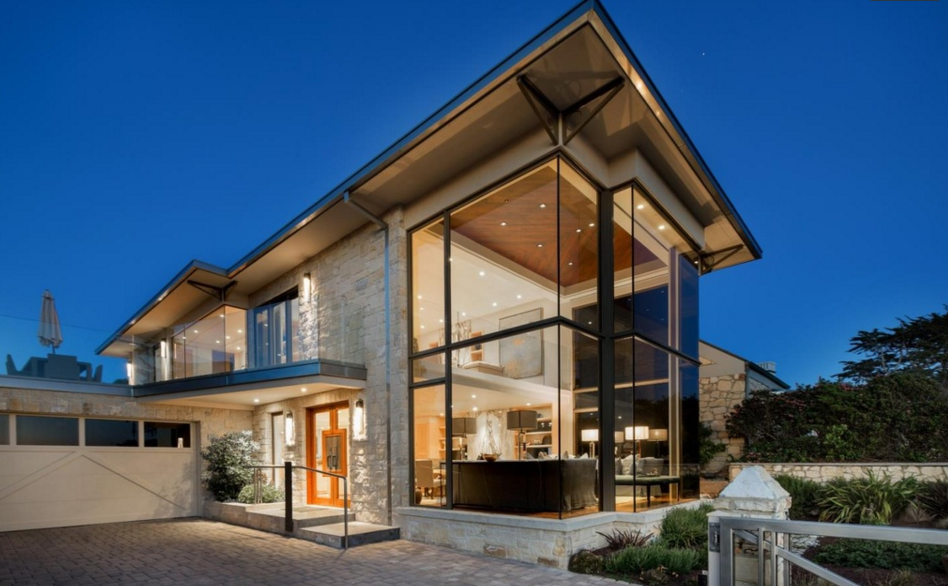 $11 Million Contemporary Home In Carmel, CA
