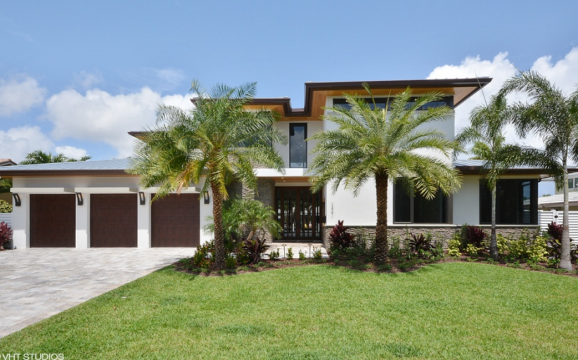 $3.495 Million Newly Built Contemporary Waterfront Home In Fort Lauderdale, FL
