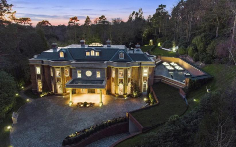 17,000 Square Foot Brick Mansion In Surrey, England
