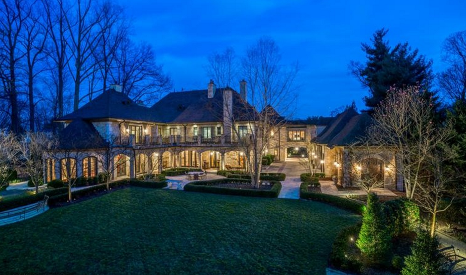 $18 Million 20,000 Square Foot French Country Mansion In Bethesda, MD