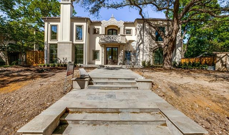 $9.75 Million Newly Built Mansion In Dallas, TX