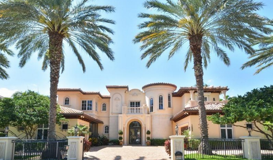 $4.35 Million Mediterranean Country Club Home In Boca Raton, FL