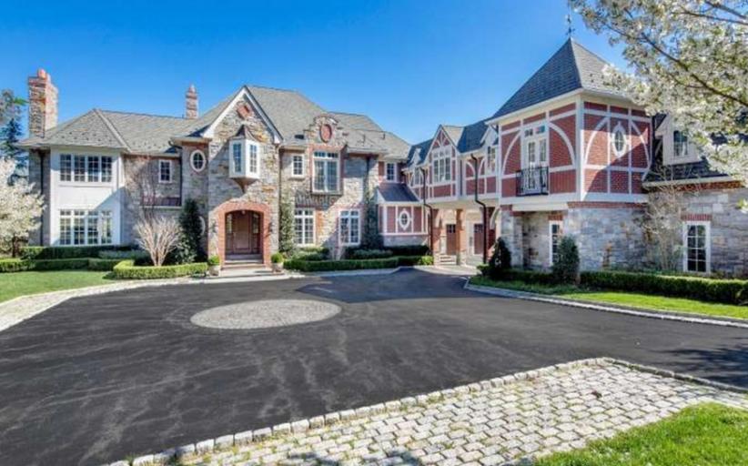 15,000 Square Foot Brick & Stone Mansion In Gladwyne, PA