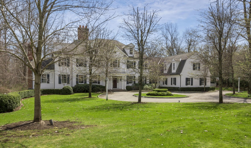 $3.875 Million Colonial Mansion In Greenwich, CT