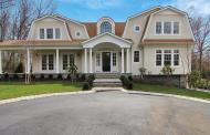 $2.195 Million Newly Built Shingle & Stone Home In Saddle River, NJ