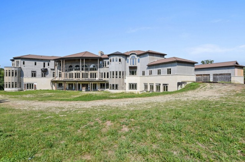 36 000 Square Foot Unfinished Mega Mansion In Burr Ridge