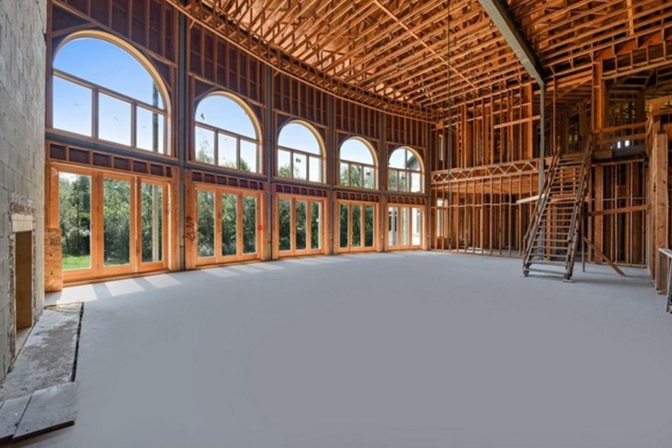 36 000 Square Foot Unfinished Mega Mansion In Burr Ridge