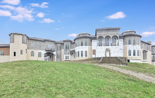 36,000 Square Foot Unfinished Mega Mansion In Burr Ridge, IL