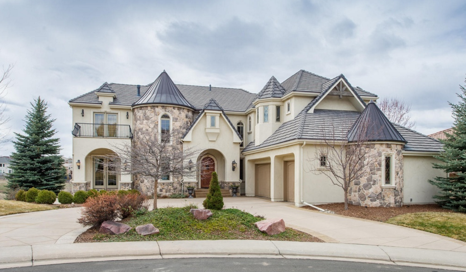 $1.695 Million Stone & Stucco Home In Highlands Ranch, CO