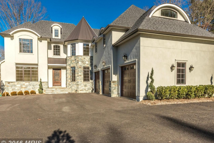 $1.7 Million Newly Built Stone & Stucco Home In Oakton, VA