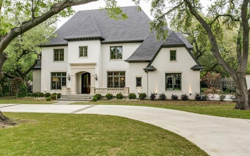 $3.395 Million Newly Built French Inspired Home In Dallas, TX