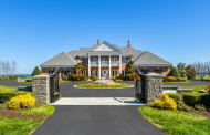$2.9 Million Waterfront Brick Home In Chester, MD