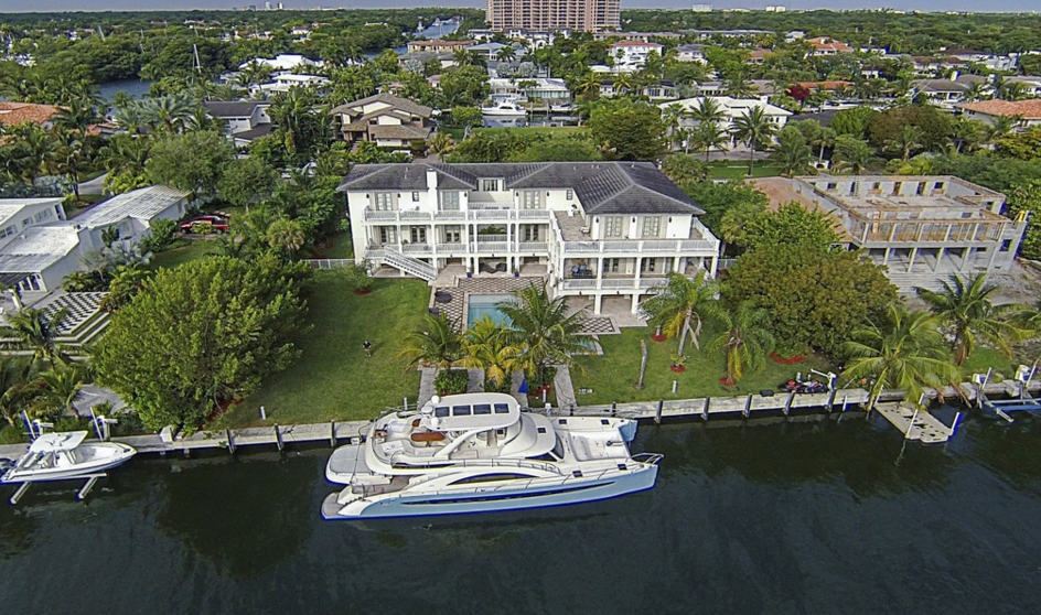 $8.9 Million Plantation Style Waterfront Mansion In Coral Gables, FL