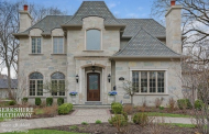 $2.8 Million European Inspired Stone Home In Hinsdale, IL