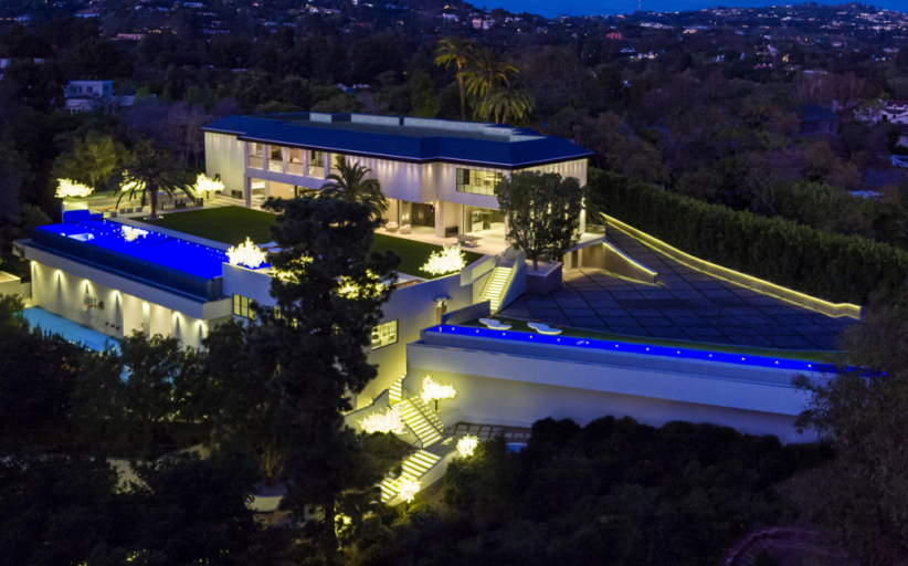 $150 Million Newly Built Contemporary Mega Estate In Los Angeles, CA