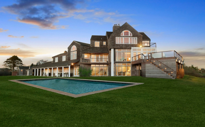 $38.995 Million Oceanfront Mansion In Sagaponack, NY