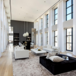 2-story Living & Dining Rooms