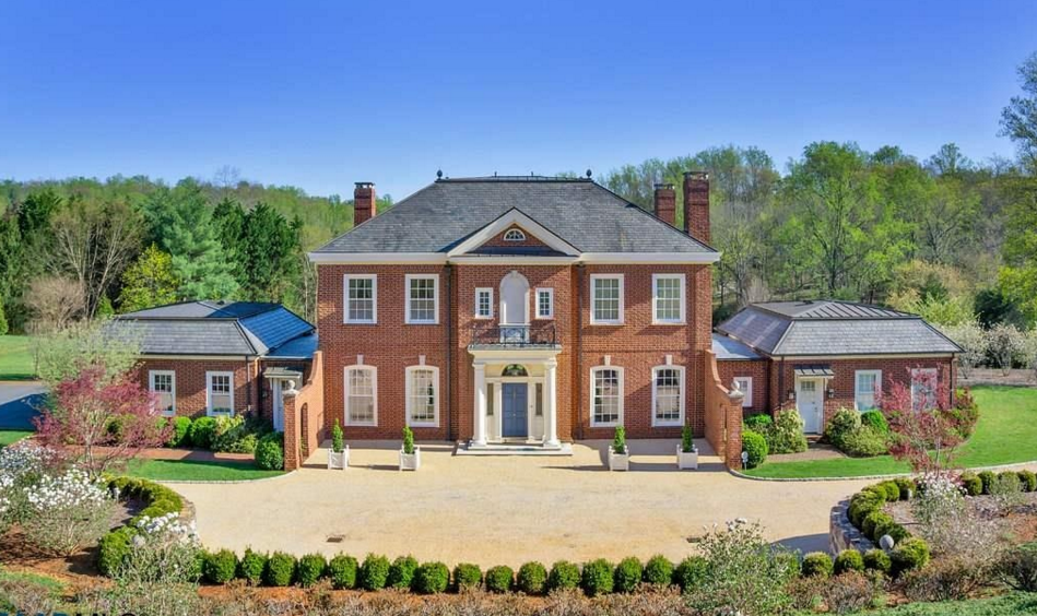 $4.1 Million Brick Home In Charlottesville, VA