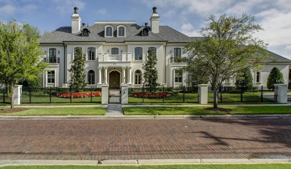 $7.5 Million Newly Built Mansion In Tampa, FL