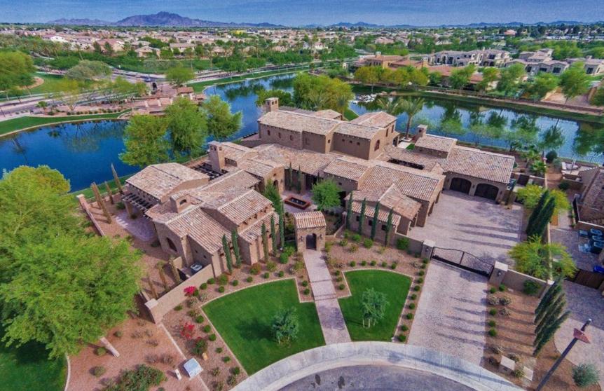 $3.85 Million Newly Built Lakefront Home In Chandler, AZ
