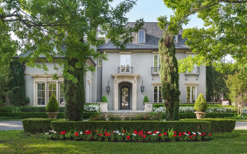 $3.45 Million French Inspired Home In Dallas, TX