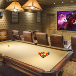 Billiards Room & Home Theater