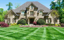 10,000 Square Foot Brick & Stone Mansion In Raleigh, NC