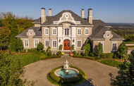 10,000 Square Foot European Inspired Mansion In Floyds Knobs, IN