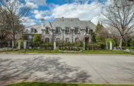 $3.3 Million French Inspired Stucco Mansion In Dallas, TX