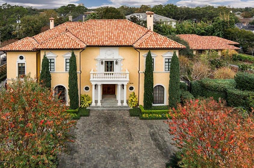 $6.2 Million Mediterranean Mansion In Houston, TX