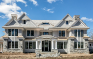 $6.495 Million Newly Built Shingle & Stone Home In Riverside, CT