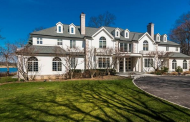 10,000 Square Foot Waterfront Colonial Mansion In Rye, NY