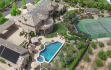 $3.395 Million Stone & Stucco Home In Encinitas, CA