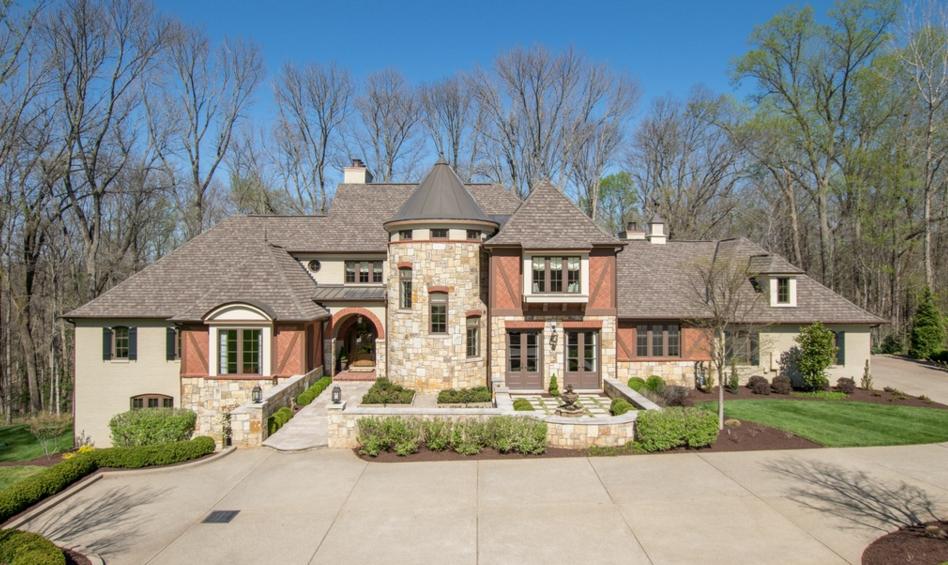 $1.895 Million Brick & Stone Mansion In Prospect, KY