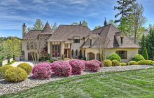 10,000 Square Foot Lakefront Mansion In Mooresville, NC