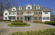 15,000 Square Foot Colonial Mansion In Bernardsville, NJ