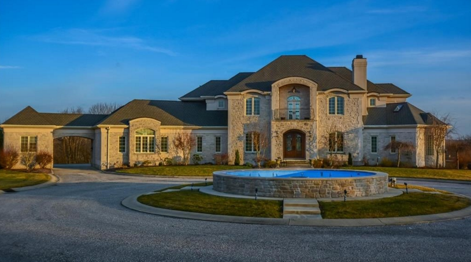 14,000 Square Foot Stone Mansion In Bloomington, IN