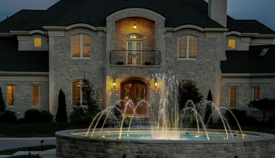 14 000 Square Foot Stone Mansion In Bloomington In