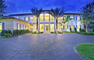 11,000 Square Foot Newly Built Tropical Contemporary Mansion In Miami, FL