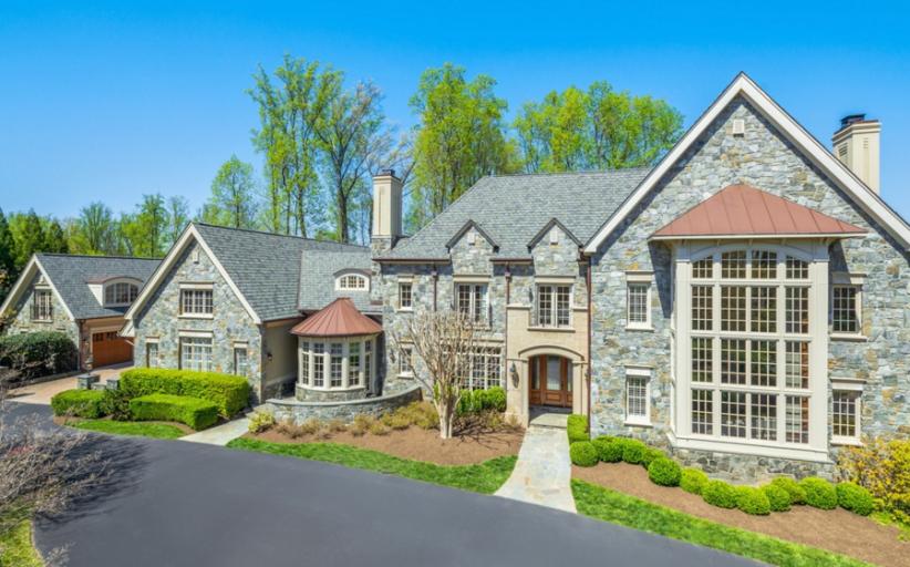 11,000 Square Foot Stone Mansion In McLean, VA