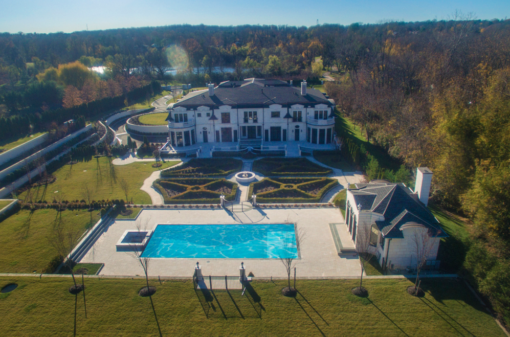 More Pics & Floor Plans Of A 30,000 Square Foot Newly Built Mega Mansion In Brookville, NY