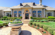 $2.195 Million Stone Country Club Home In Oklahoma City, OK